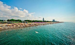 В Грузию с комфортом от 437 руб/16 дней + 2 дня в Тбилиси! Отель 3* со своим пляжем!