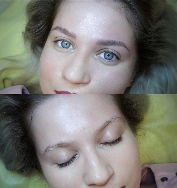 Перманентный макияж бровей, микроблейдинг, моделирование, коррекция, окраска бровей и ресниц от 4 руб.