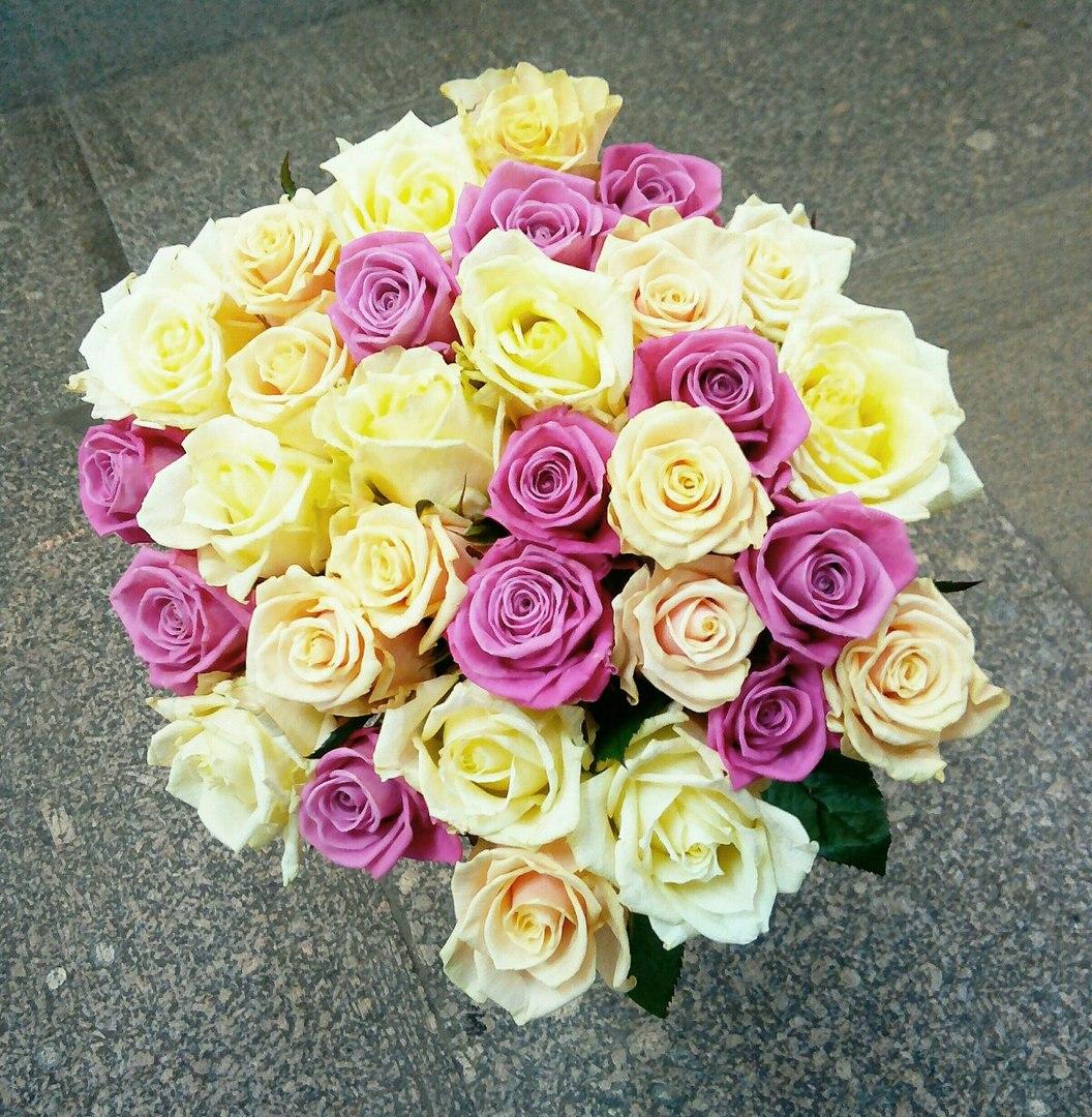 """Свежие розы, цветы от 0,80 руб/шт, цветочные композиции от 15 руб. от """"Minskroses.by"""""""