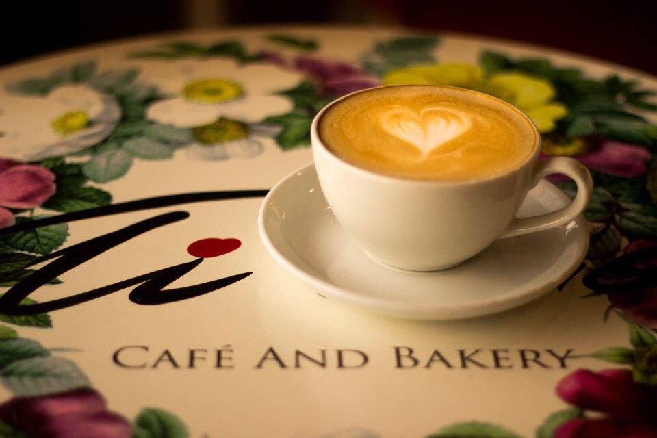 """Десерт """"Медовый"""" + капучино классический всего за 3 руб. в кофейне """"Ti Amo"""""""