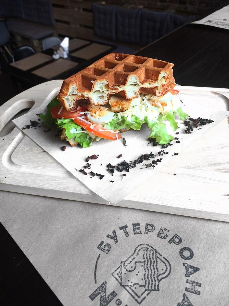 """Сэндвич на выбор + капучино в """"Бутербродной №1"""" от 4,25 руб."""