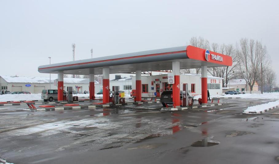 """Бензин и дизель на АЗС """"Трайпл"""" со скидкой 7 коп. + пылесос -50%"""