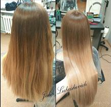 Различные виды окрасок, ламинирования и стрижки волос от 15 руб. Без доплат за краситель!