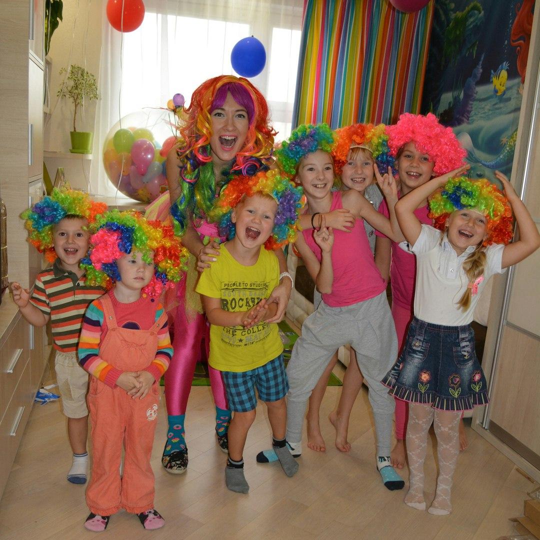 Аниматоры, клоуны, шоу мыльных пузырей на детский праздник от 20 руб.