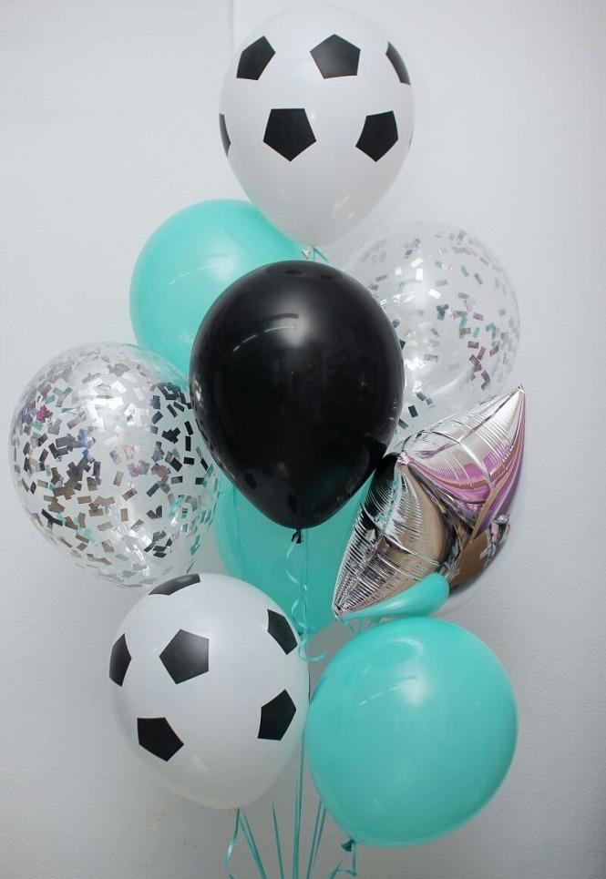 Гелиевые шары, светодиодные, светящиеся, фольгированные шарики, цифры от 0,70 руб.