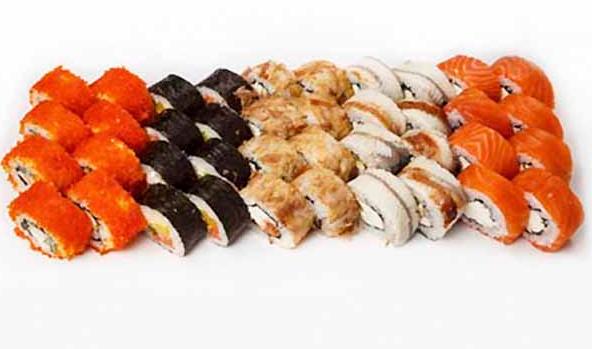 "Суши-сеты в кафе ""Prime"" или на вынос от 17,50 руб/до 1205 г"