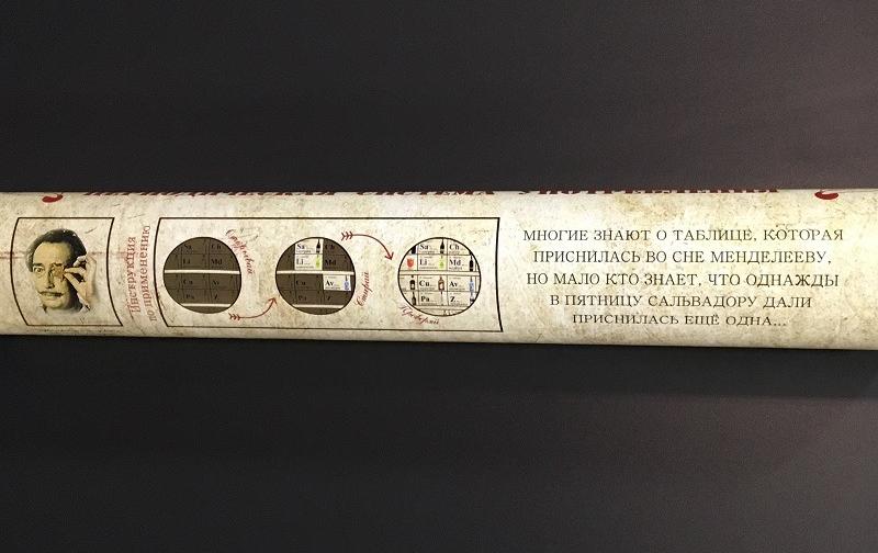 """Скретч-постер """"Периодическая система употребления"""" всего за 16,90 руб."""