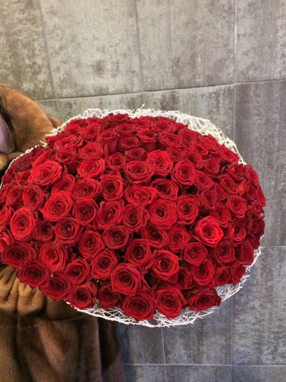 Свежие розы, ромашки от 1,40 руб/шт