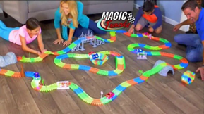Дорога Magic Tracks, радиоуправляемые машины, спиннер, рисуй светом и др. от 2,50 руб.