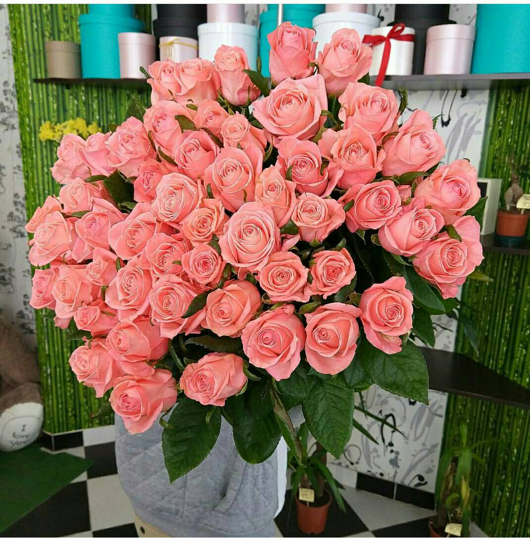 Свежие розы, хризантемы, букеты от 1,20 руб/шт.