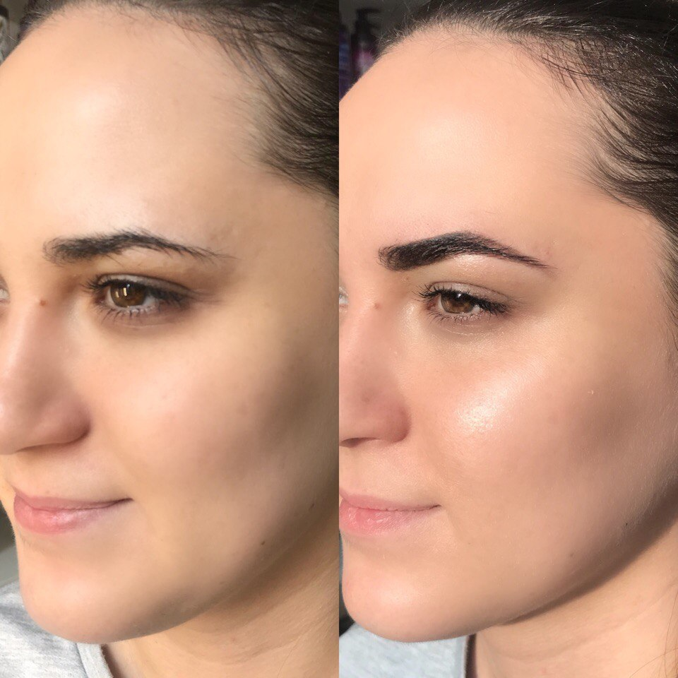 """Моделирование бровей, ботокс и окрашивание ресниц, макияж от 4 руб. в """"Beautyroom"""""""