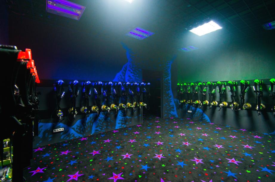 """Детский лазертаг в развлекательном центре """"Силариус"""" всего за 2 руб."""