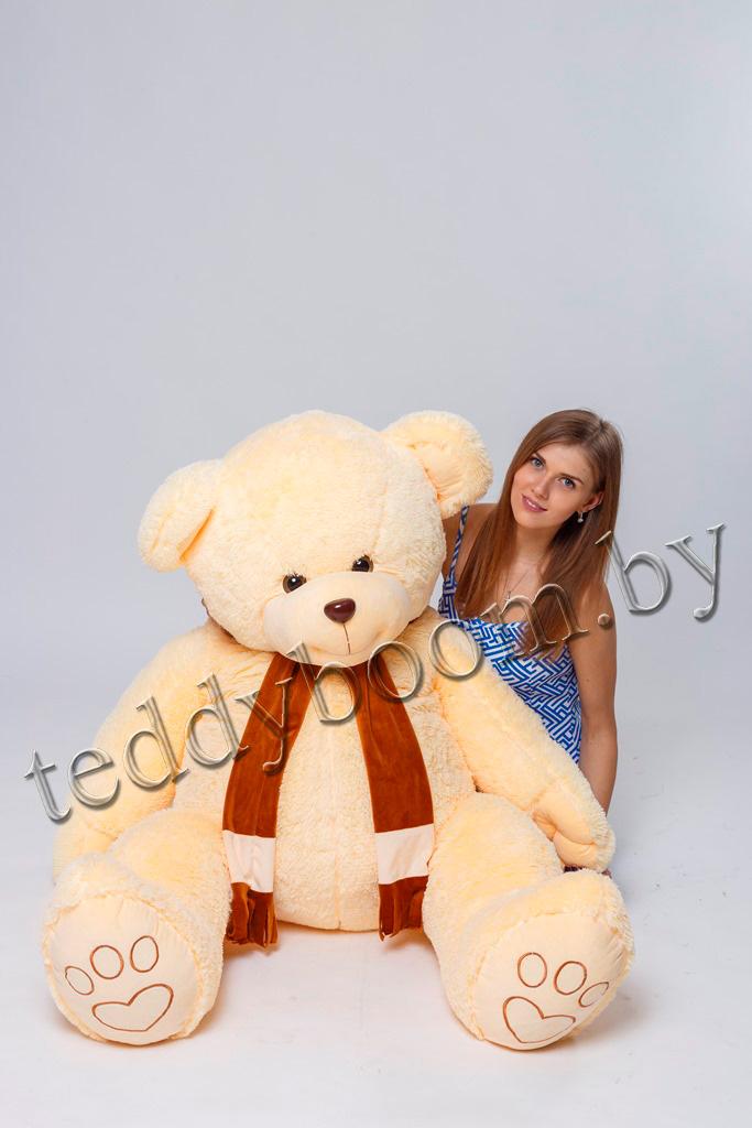 Большие плюшевые медведи, мишки всего от 23 руб.