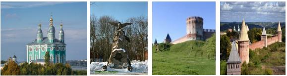 Тур выходного дня в Смоленск за 60 руб.