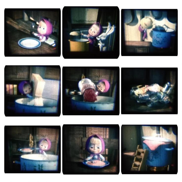 """Детский проекционный ночник, лампа """"Harper"""", мультфонарик, настольный светильник-раскраска от 11,20 руб."""