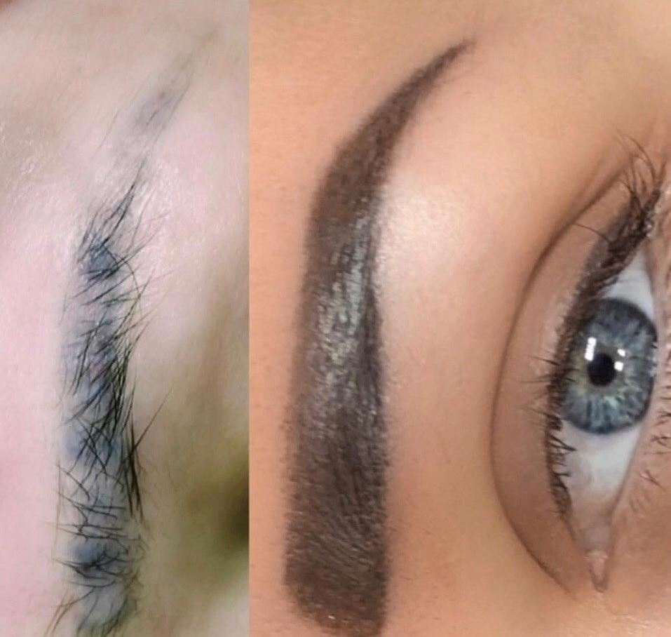 Перманентный макияж, микропигментирование от 30 руб, безлазерное удаление от 60 руб.