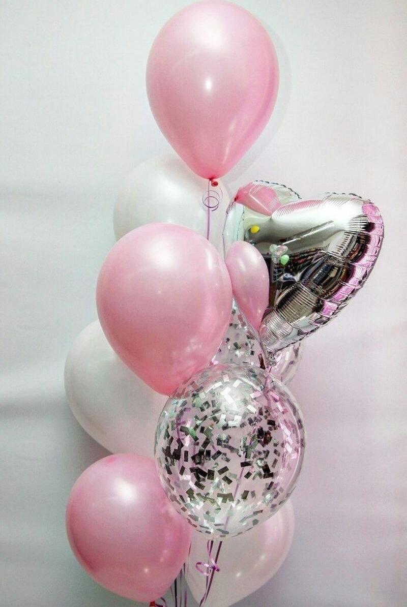 Гелиевые шары, светодиодные, светящиеся, фольгированные шарики, цифры от 0,30 руб.