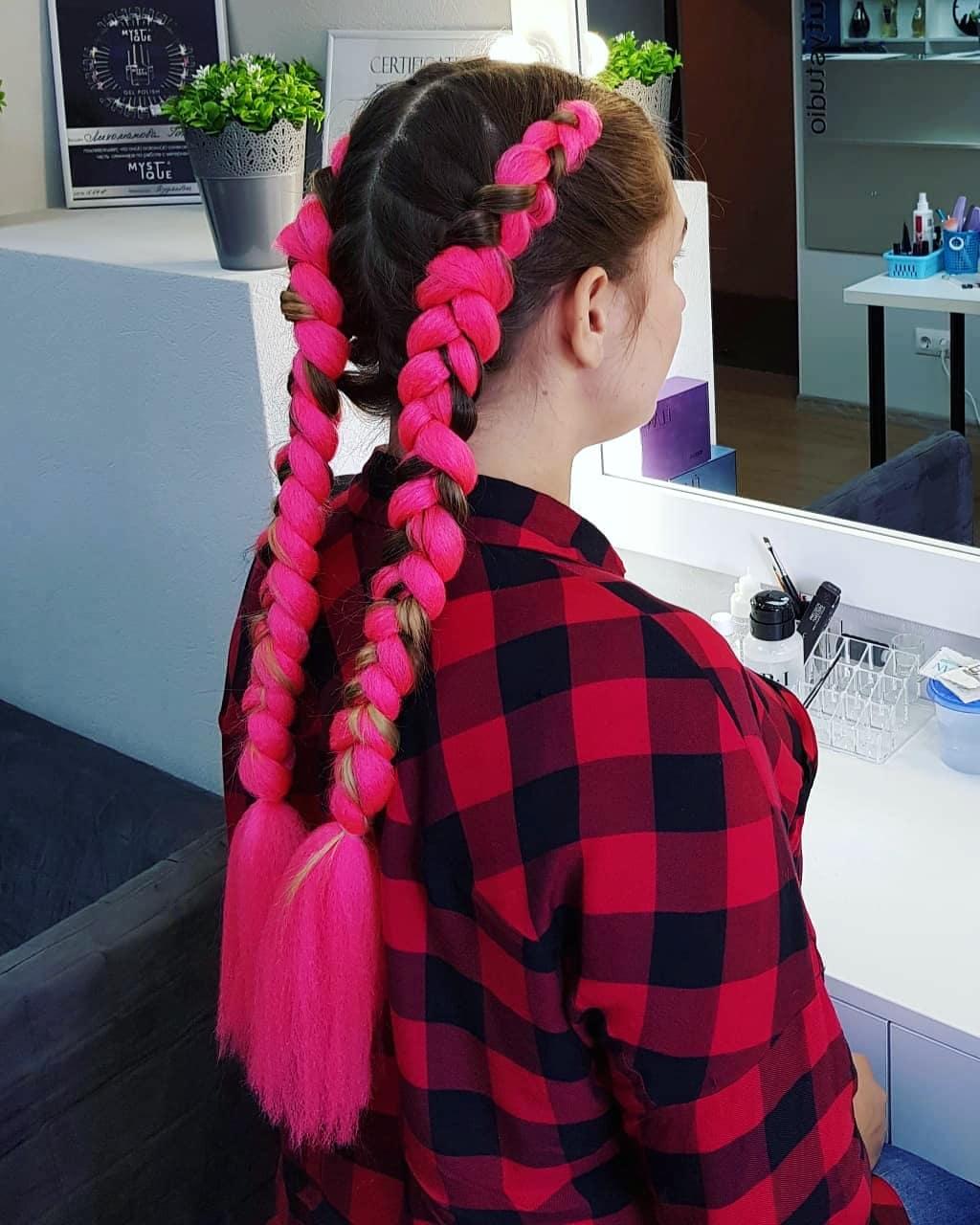 """Все виды причесок и макияжа, плетение кос от 20 руб. в студии красоты """"Luna""""!"""