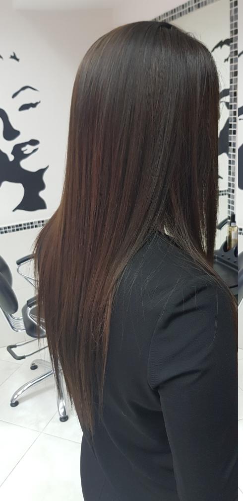 Бразильское кератиновое выпрямление волос, мелирование всего от 35 руб.