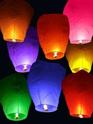 Свеча-фонтан, небесные фонарики, хлопушки, светящиеся, гелиевые, фольгированные воздушные шарики от 0,20 руб/шт.
