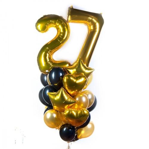 Гелиевые, фольгированные и светящиеся шары, цифры, шары-малютка от 0,80 руб/шт.