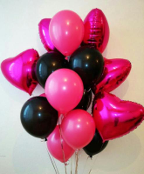 Игрушки, цветы из шаров, светящиеся шары от 0,40 руб.