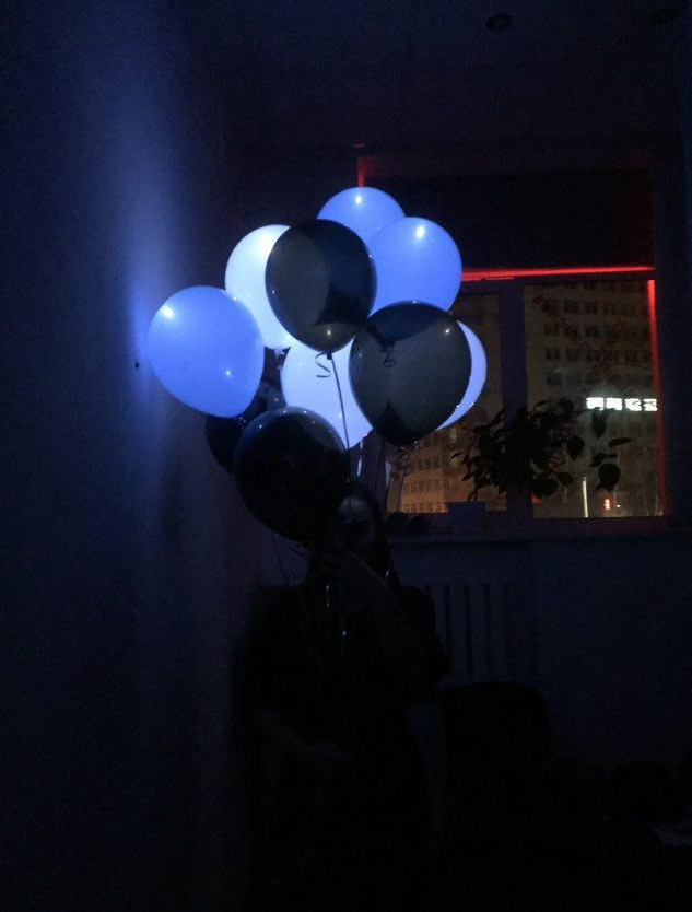"""Гелиевые шары, фольгированные цифры всего от 1,70 руб/шт. в печатном центре """"Попугай"""""""