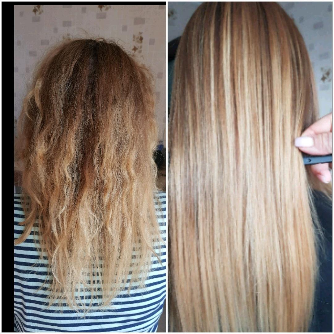 """Кератиновое выпрямление и восстановление волос косметикой """"BC Original"""" от 15 руб."""