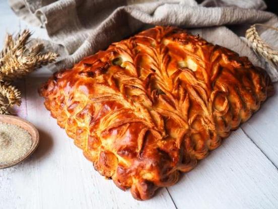 """Пироги """"Штолле"""": с крыжовником или кулебяка с мясом от 13,44 руб (1 кг)!"""