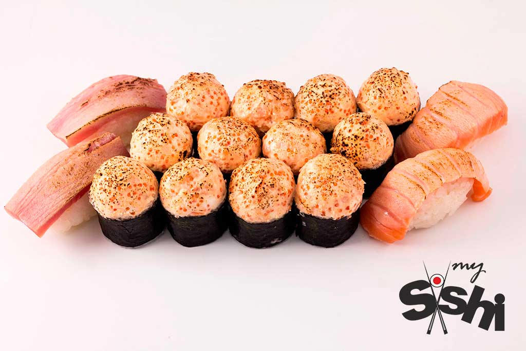"""Суши-сеты от 15,10 руб/от 550 г от """"Mysushi"""""""