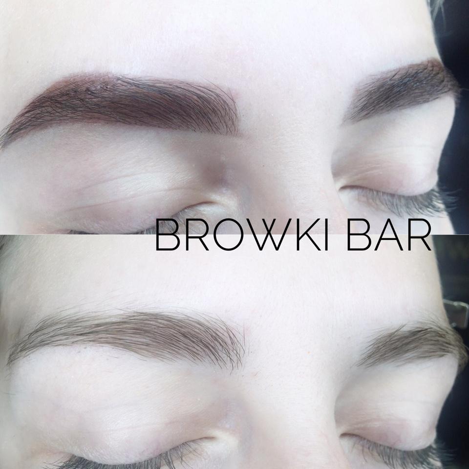 """Коррекция, моделирование, окрашивание и spa-уход для бровей от 10 руб. в Studio """"Browki bar"""""""