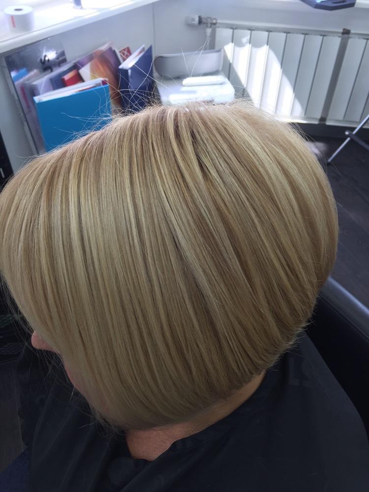 """Сложное окрашивание волос с экспресс-тонировкой всего от 40 руб. в салоне красоты """"Илеана"""""""