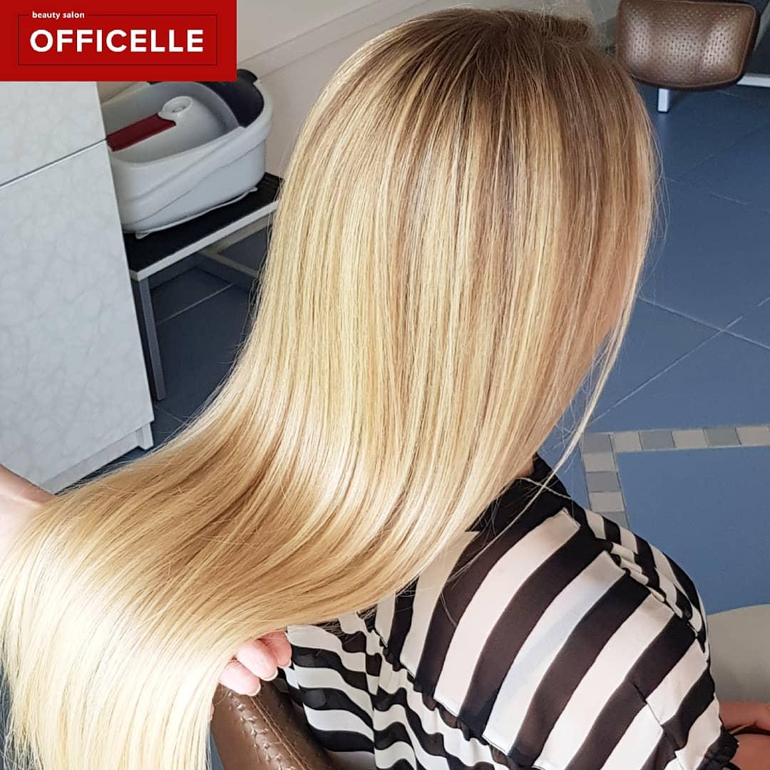 """Стрижка, укладка, уходы за волосами, комплексы от 13 руб. в салоне красоты """"Officelle"""""""