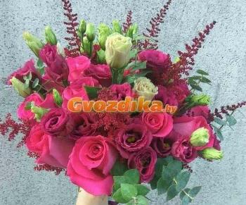 Воздушные шары от 1,24 руб, букеты из роз, гвоздик, гербер от 0,85 руб/шт.