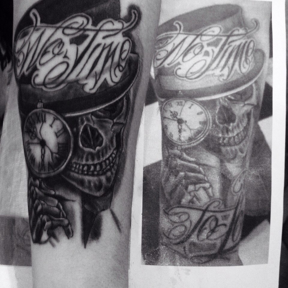 """Художественная татуировка за 30 руб/час в тату-студии """"GiN"""""""