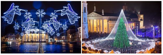 """Новогодний круиз 2019 """"Таллин-Стокгольм-Таллин-Рига-Вильнюс"""" от 541 руб/5 дней. Автобус 2012 года, отель 4* в центре Риги!"""