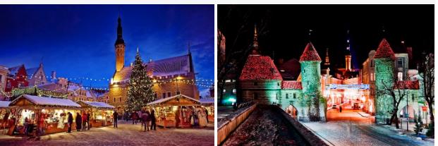 "Новогодний тур ""Таллин - Хельсинки - Таллин - Рига"" на пароме от 453 руб/4 дня. Без ночных переездов!"