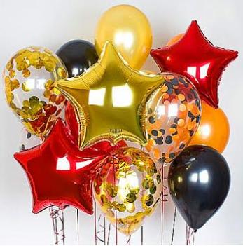 Фольгированные, латексные шары с гелием от 0,20 руб/шт + кружка подарок!