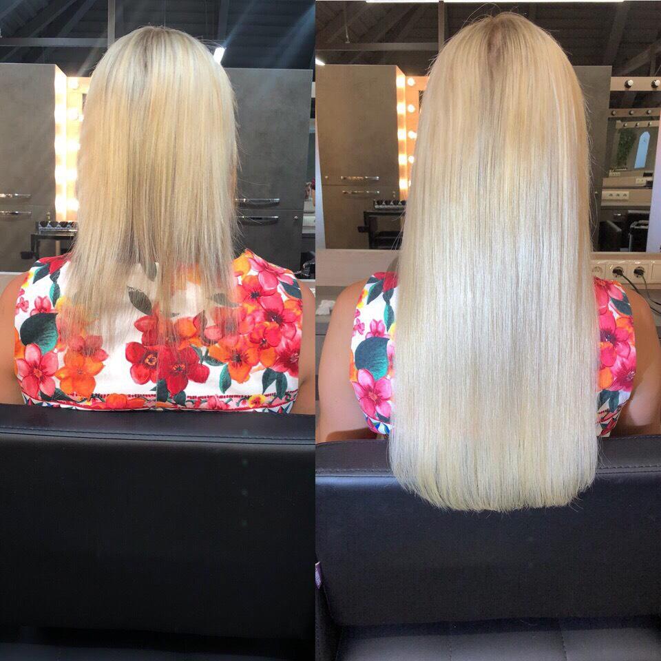 Наращивание волос от 400 руб, снятие и коррекция от 0,40 руб/прядь