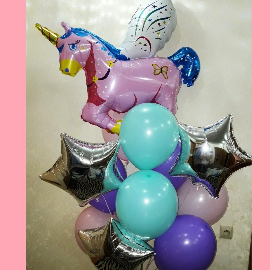 Воздушные шары от 0,30 руб/шт., гелиевые, латексные, светящиеся, фольгированные шары