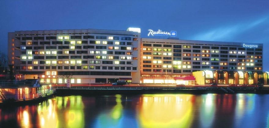 """Новый год в Риге в отеле """"Radisson blu Daugava"""" от 313 руб/4 дня. SPA - безлимит!"""