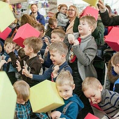 """Детская программа """"Лего Ленд"""" + поролоновое шоу с выездом к клиенту всего за 80 руб."""
