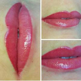 """Перманентный макияж век, бровей, губ всего от 40 руб. в студии """"Beautiful Lady"""""""