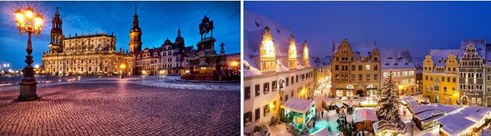 """Рождественский тур """"Дрезден - Мейсен* - Нюрнберг - Прага"""" от 207 руб/5 дней + шоппинг"""
