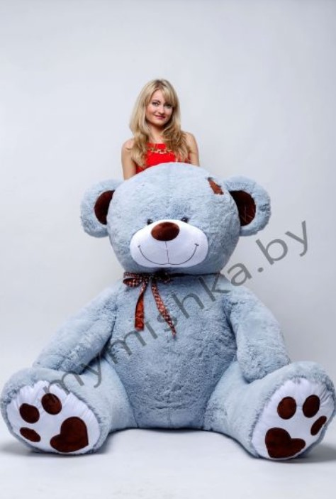 """Большие плюшевые медведи, панды, розы в колбе от 19,90 руб. от интернет-магазина """"Medvedus"""""""
