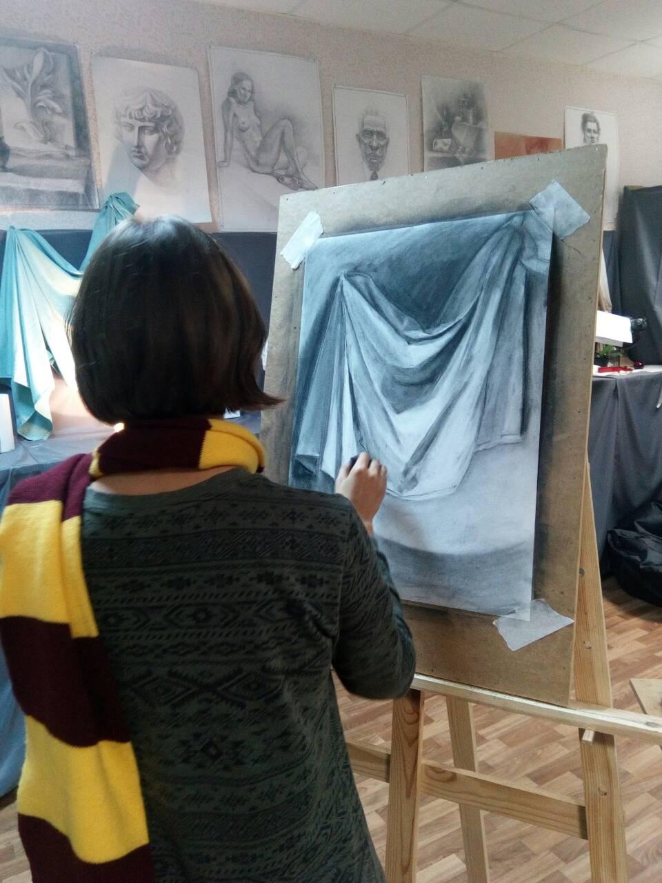 """8 курсов на выбор для детей и взрослых со скидкой до 50% в студии рисунка и живописи """"Акварель"""""""