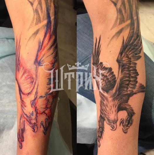 """Авторские татуировки, пирсинг, микродермалы от 20 руб. в арт-тату-ателье """"Штрих"""""""