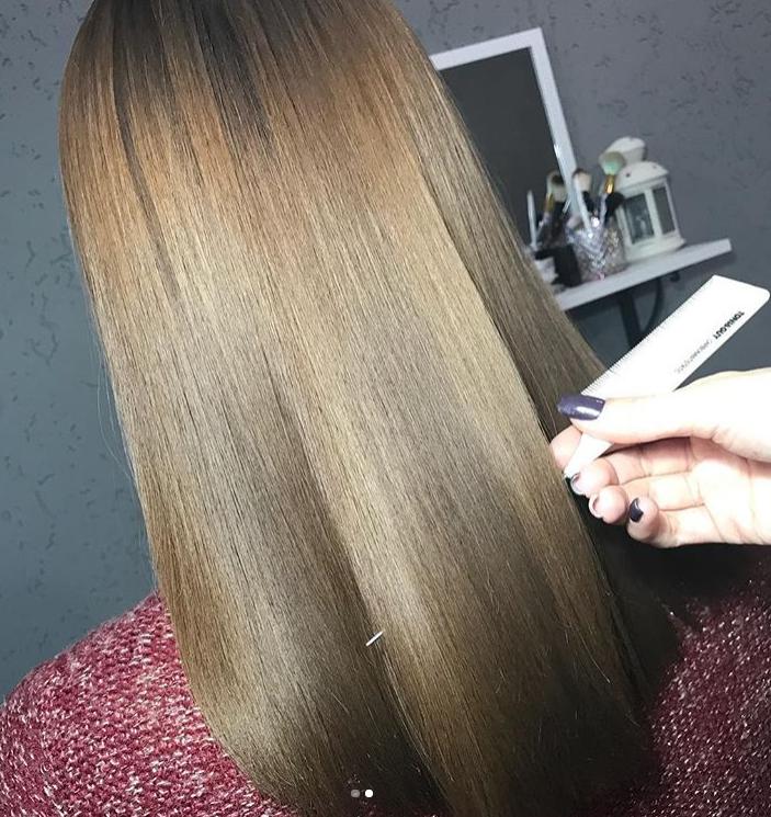 Кератиновое выпрямление, горячий ботокс для волос всего от 8 руб.