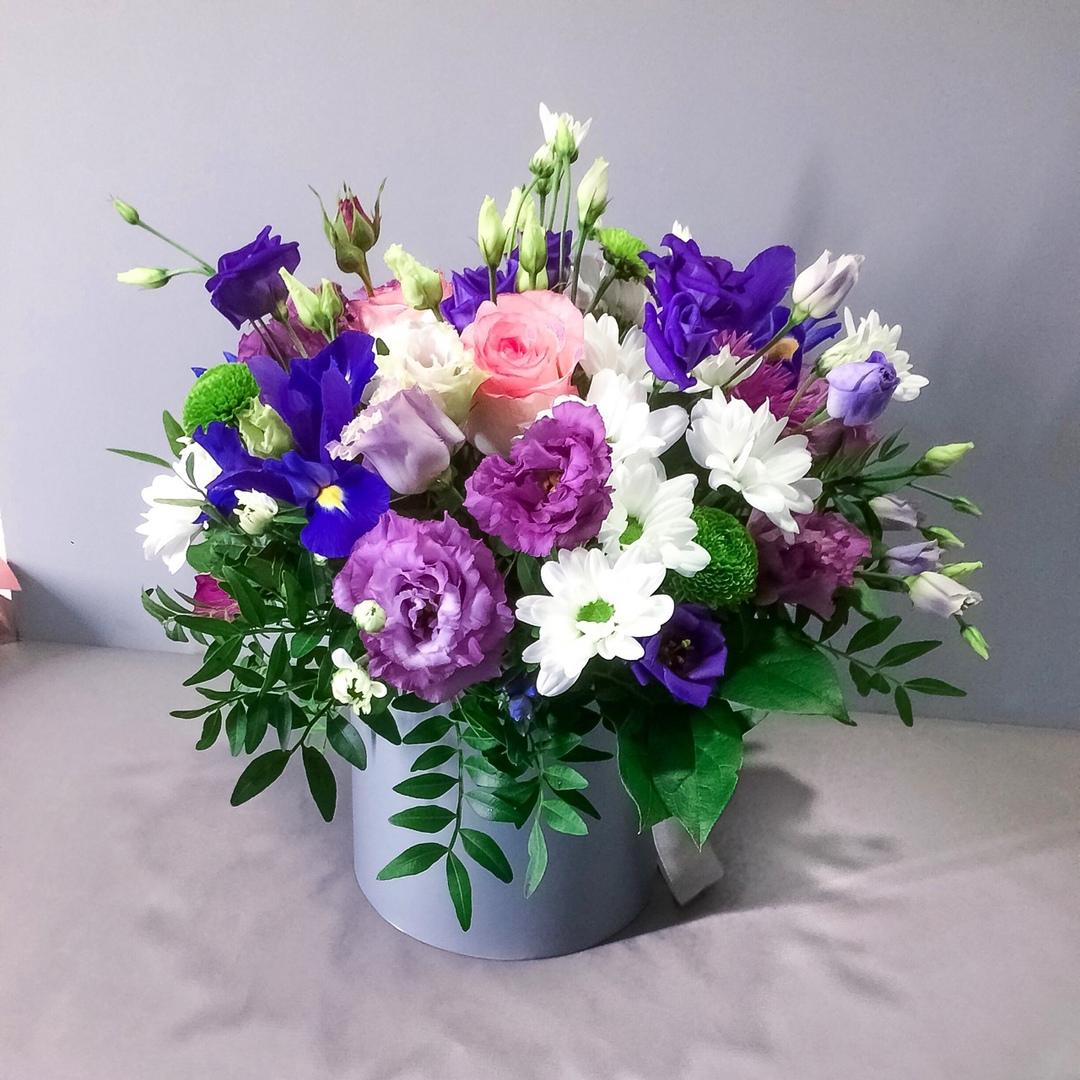 """Цветы от 1,80 руб/шт, букеты и композиции, """"Flowerbox"""" от 14 руб."""