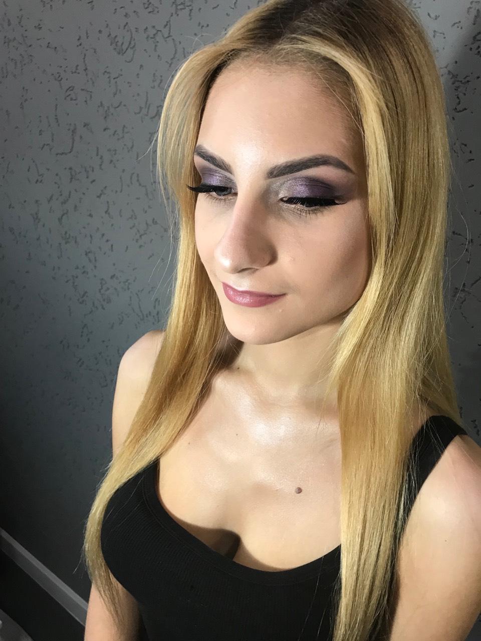 """Дневной/вечерний макияж, локоны от 20 руб, практический мастер-класс """"Макияж для себя"""" за 60 руб."""